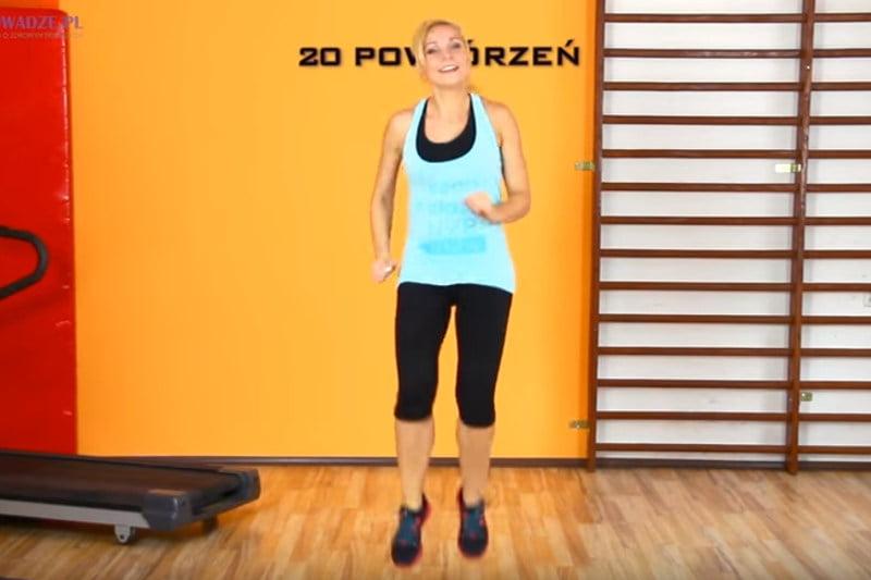 Wymagający trening na spalanie tkanki tłuszczowej