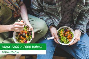 Dieta 1200 1600 kalorii nowa wersja